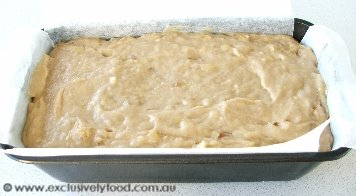 Exclusively food banana bread recipe dont over mix as this can make the banana bread tough transfer mixture to prepared pan forumfinder Images
