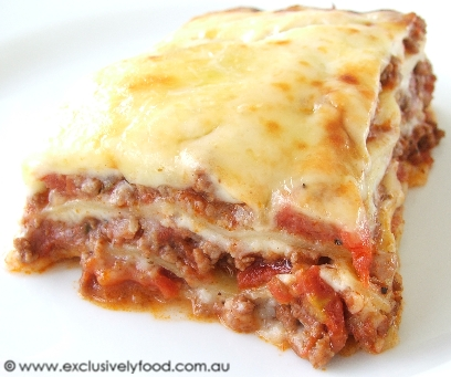 Meat lasagna recipe easy