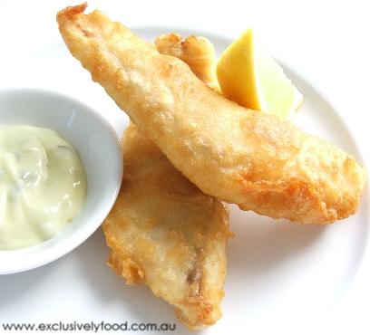 Beer Batter Fish on Recipe Produces A Light Crisp Golden Batter Rather Than Using Beer