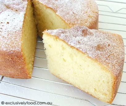 Exclusively Food Butter Cake Recipe