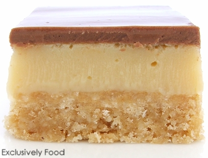... chocolate caramel slice our slice has a greater ratio of caramel to