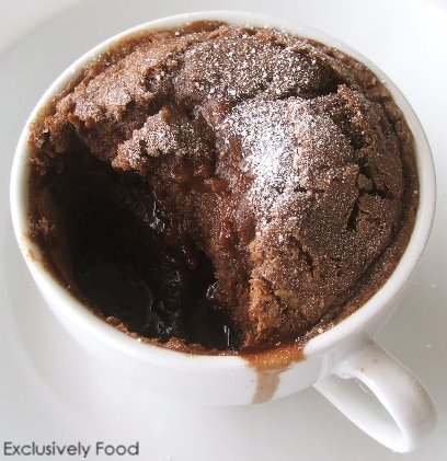 Exclusively Food: Chocolate Self-Saucing Pudding Recipe