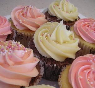 Exclusively Food Wedding Cupcakes