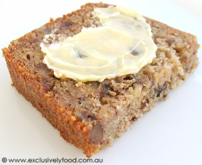 Exclusively food banana date and pecan loaf recipe banana date and pecan loaf recipe forumfinder Images