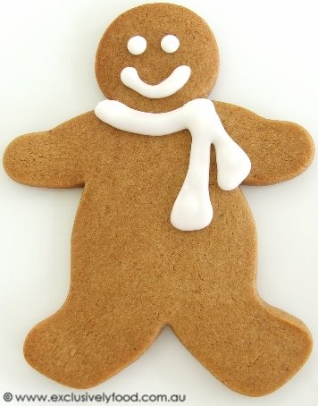 Exclusively Food: Gingerbread Men Recipe
