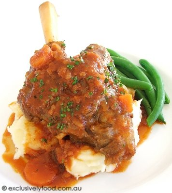 and mash lamb shank with cheddar lamb shanks mash mash healthy bangers ...