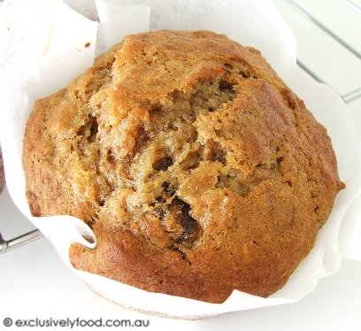 Exclusively food low fat banana bran muffin recipe low fat banana bran muffin recipe forumfinder Images