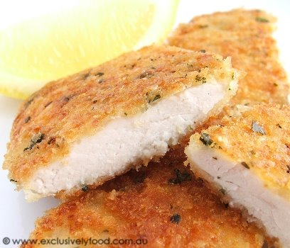 parmesan chicken recipe bread crumbs