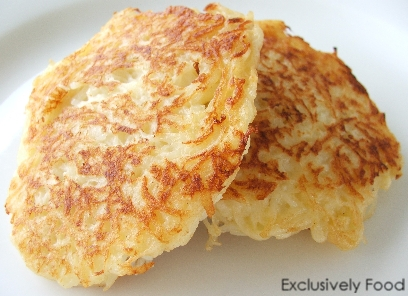 Exclusively food potato pancakes recipe potato pancakes recipe ccuart Choice Image