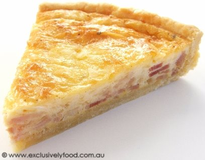 Exclusively Food: Quiche Lorraine Recipe