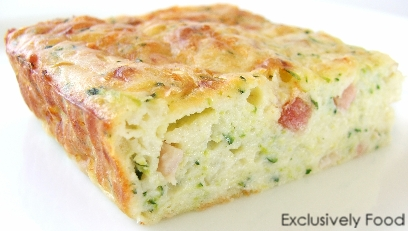 Exclusively Food Zucchini Slice Recipe